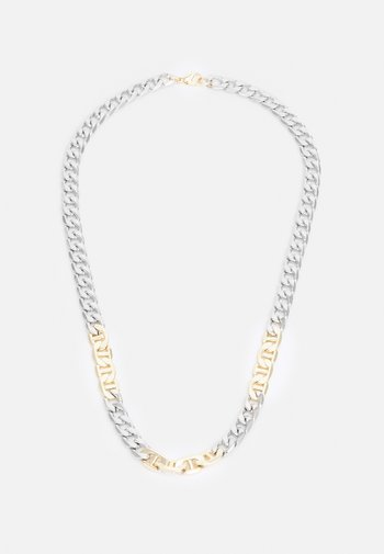 MIXED CHAIN NECKLACE - Halsband - silver-coloured/gold-coloured