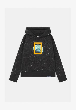 BOYS NATIONAL GEOGRAPHIC HOOD - Sweatshirt - moonless night