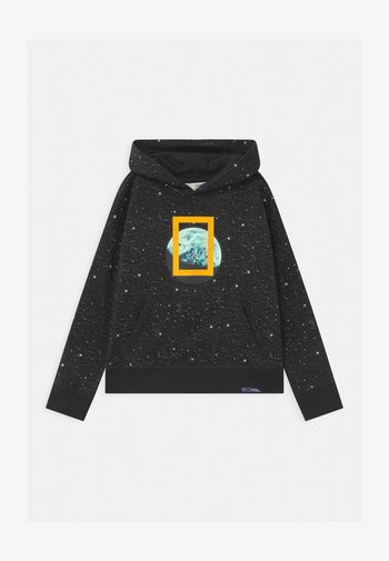 BOYS NATIONAL GEOGRAPHIC HOOD - Jersey con capucha - moonless night