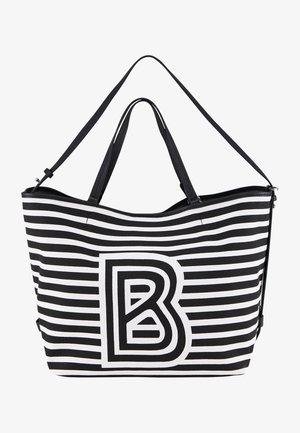 Tote bag - schwarz/weiß