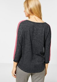 Street One - MIT WORDING - Jumper - grau