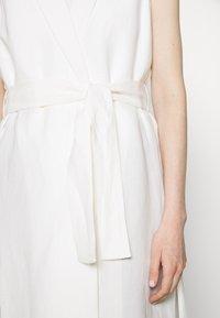 Esprit Collection - LONG VEST - Väst - off white - 5