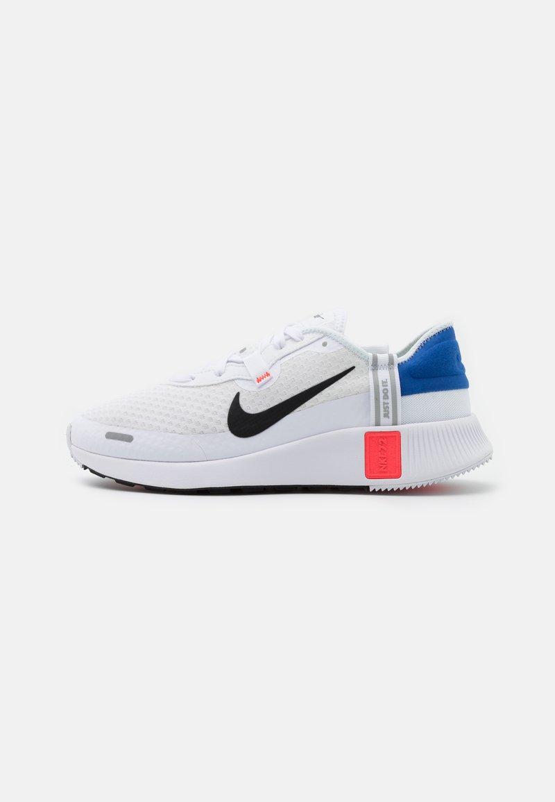 Nike Sportswear - REPOSTO - Sneakers - white/black/flash crimson/game royal/light smoke grey