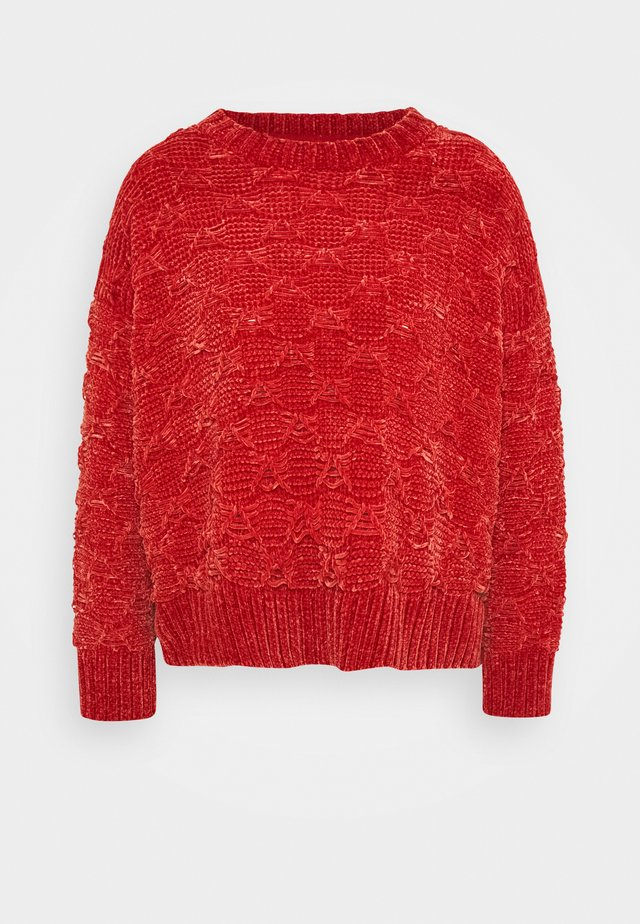 LALA - Maglione - tibetan red