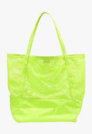 Shopping bag - neon grün