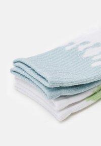 Monki - Socks - white /blue/green light - 1
