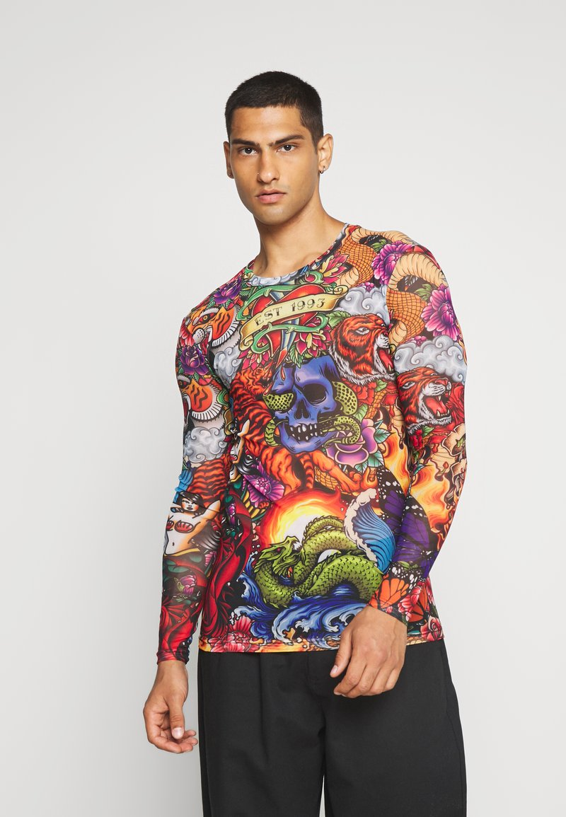 Jaded London - 90S TATTO - Long sleeved top - multicoloured