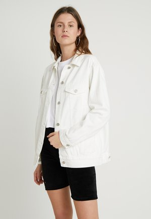 OVERSIZED JACKET - Jeansjakke - white