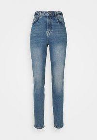 PCLEAH MOM - Slim fit jeans - medium blue denim