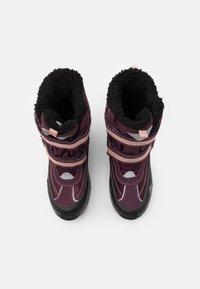 Kappa - BONTE TEX UNISEX - Winter boots - purple/rosé - 3