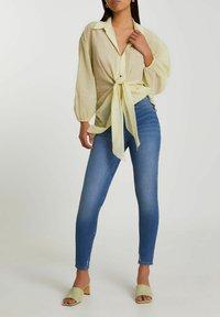 River Island - Button-down blouse - yellow - 1