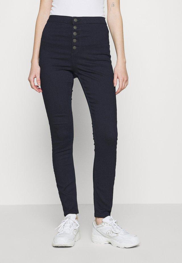 VMJOY  - Jeansy Skinny Fit - dark blue denim