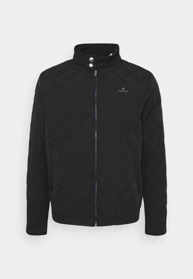 QUILTED WINDCHEATER - Veste mi-saison - black
