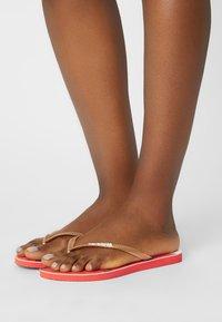 Havaianas - SLIM WOMEN - Pool shoes - red - 1
