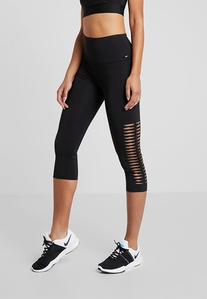CAPRI TWIST - 3/4 sports trousers - black