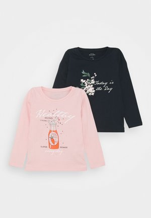 NMFVEEN 2 PACK - T-shirt à manches longues - coral blush