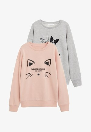 2er-Pack - Sweatshirt - rose clair