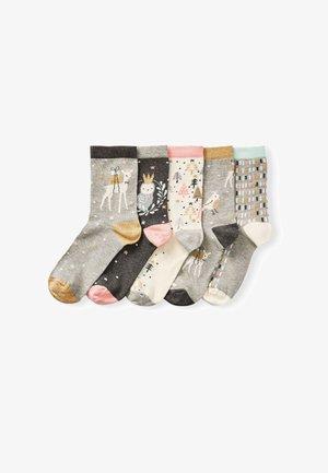 5 PACK - Socks - grey