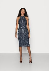 SISTA GLAM PETITE - GLOSSIE  - Cocktail dress / Party dress - navy - 1
