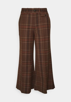 VALERY - Trousers - tawny brown