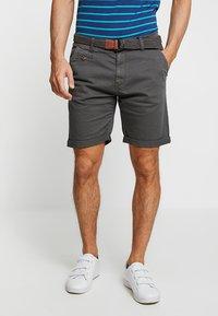 INDICODE JEANS - CONER - Shorts - raven - 0