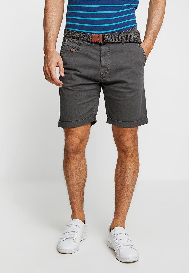 INDICODE JEANS - CONER - Shorts - raven