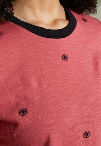 edc by Esprit - CORE SLUB - T-shirts med print - blush - 5