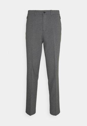 SLHSLIMTAPERED JAMES - Suit trousers - medium grey melange