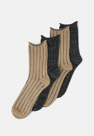 VMBOMBAY SOCKS 4 PACK - Strømper - black/sold