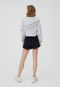 PULL&BEAR - veste en sweat zippée - grey - 2