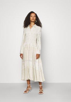 HARPER SHIRT DRESS - Košilové šaty - birch