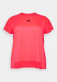 TEE  - Basic T-shirt - signal pink