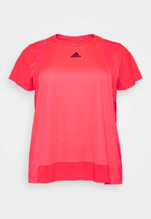 TEE  - T-shirts - signal pink