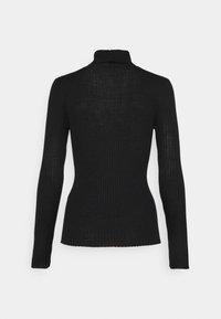 Selected Femme Tall - SLFCOSTINA ROLLNECK - Jumper - black - 1