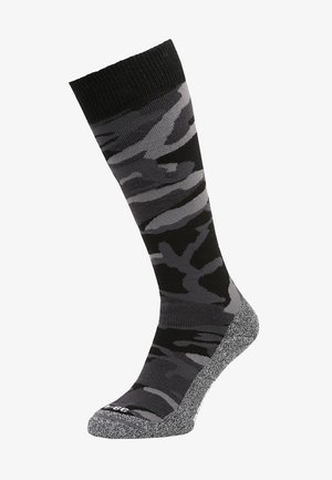 CAMO  - Knee high socks - black