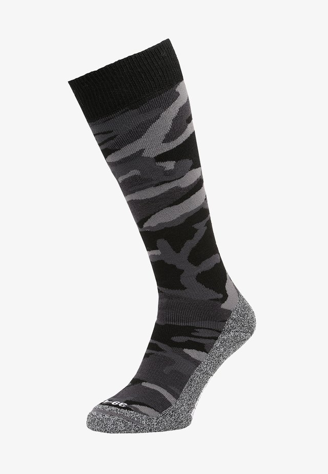 CAMO  - Knee high socks - black
