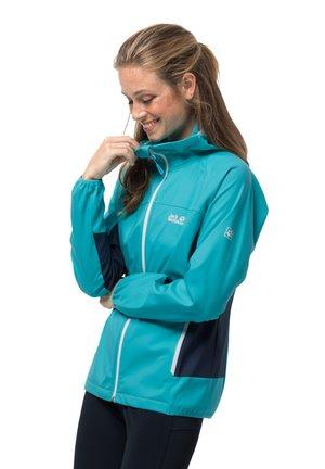 EAGLE PEAK  - Soft shell jacket - dark aqua