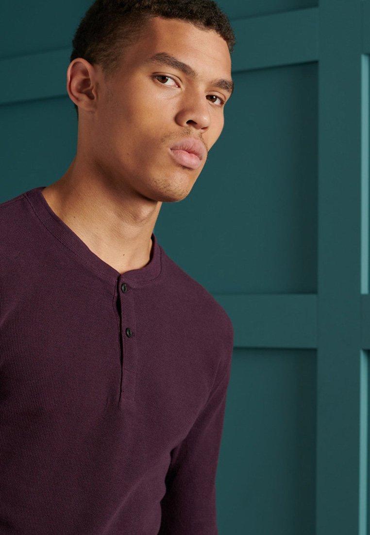 Men MICRO TEXTURE - Long sleeved top