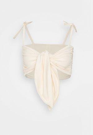 CLEO - Bikini top - light beige