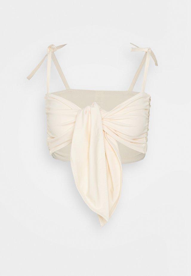 CLEO - Haut de bikini - light beige