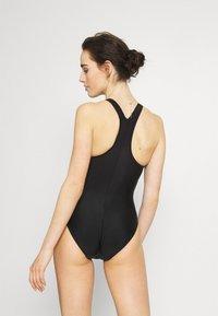 Speedo - BOOM LOGO  - Swimsuit - black/blue - 2