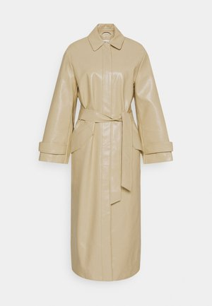 JOURNI COAT - Gabardina - beige