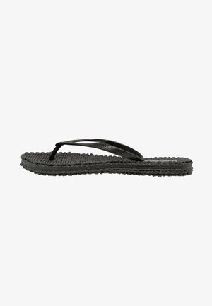 CHEERFUL - Teenslippers - black