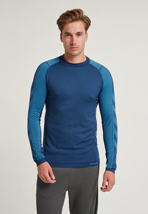 Long sleeved top - blue sapphire/medieval blue