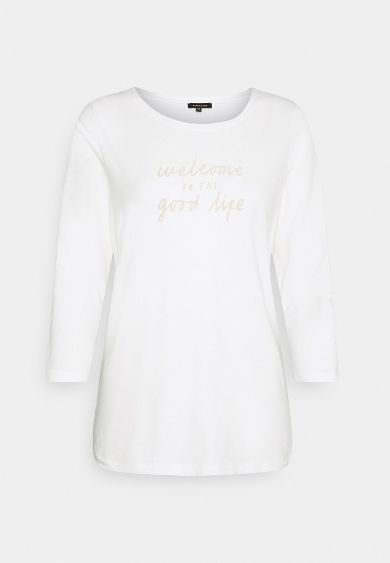 More & More - Long sleeved top - off white