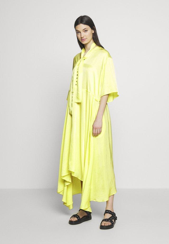 KOCCA - Vestito lungo - yellow