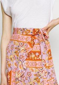 Vila - VICITY FESTIVAL WRAP SKIRT - Wrap skirt - lavender - 4
