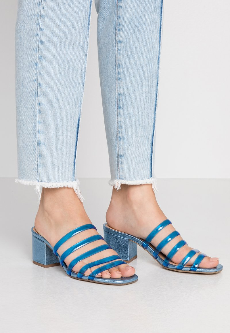 Steven New York - ISAK - Heeled mules - blue