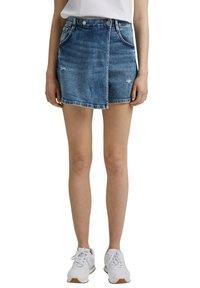edc by Esprit - Denim shorts - blue medium washed - 0