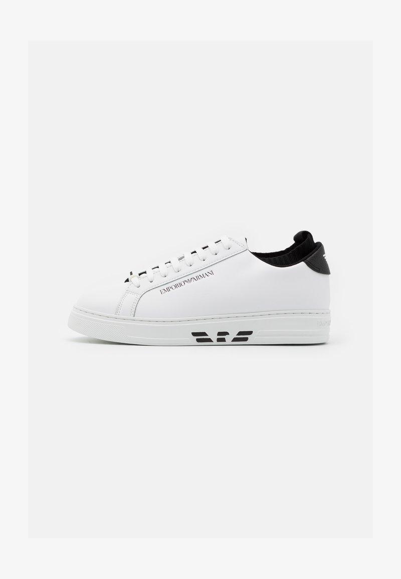 Emporio Armani - Sneakersy niskie - white/black